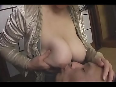 Japan son like Milf'_s big white breast -..