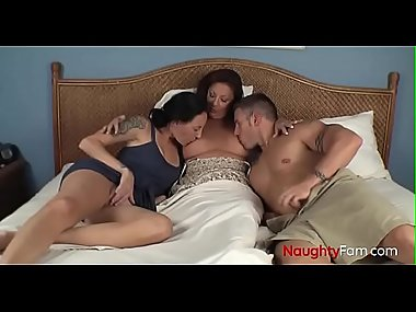 Mom Suckling her Son and Daughter - FREE Mom Videos at NaughtyFam.com
