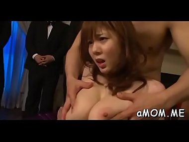 Asian mother i'_d like to fuck drilled in the shower