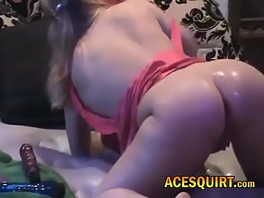Nymph Milf Cant Get Enough ACESQUIRT Vibration..