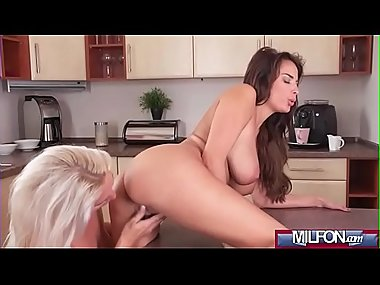 Busty mature lesbians pussy eating(Anissa Kate..