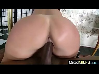 (raquel devine) Gorgeous Milf Get Nailed By Big Long Hard Black Cock..