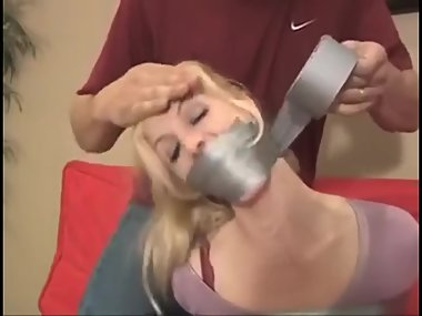 gagged woman 3