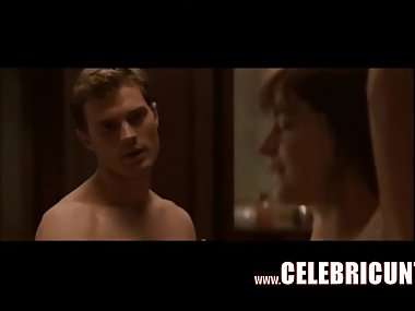 Cute Celeb Dakota Johnson Nude Sex Scenes