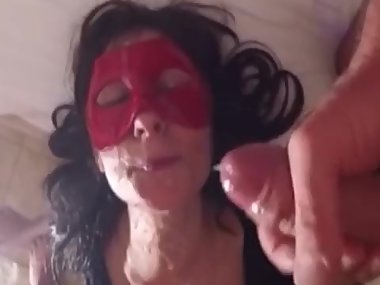 Mature milf love facial cumshots