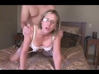 Dirty swinger wife fucked by stranger with hubby recording