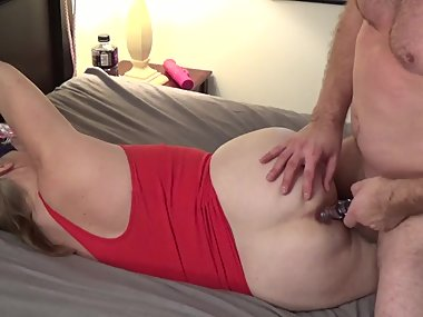 Wife pays off debt with her body