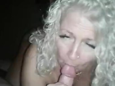 sexy milf sucks my young cock dry