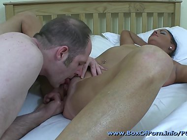 Sexy & Slutty MILF Sarah Receives Nice Massage & Fuck From Pervert..