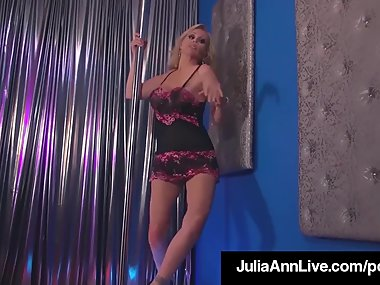Double Blow Job with Hot Milfs Julia Ann &..