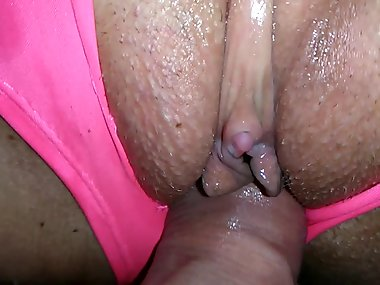 Ripped Panty Hotel Sex ! Chubby MILF w/ Big Boobs Fingered, Fucked &..
