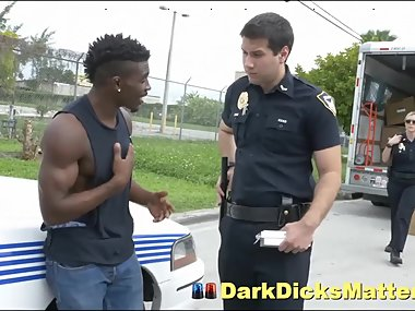 Big Dick Robber Has To Bang Milf Cops After Being Busted