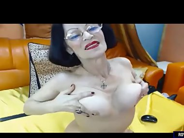 Big Tits Granny Gets Naughty On Webcam