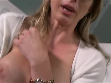 Blonde Milf Blackmailed Into Eating Ass &..