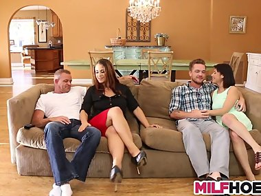 Hot Stepmom Likes Stepdaughters Boyfriend Too