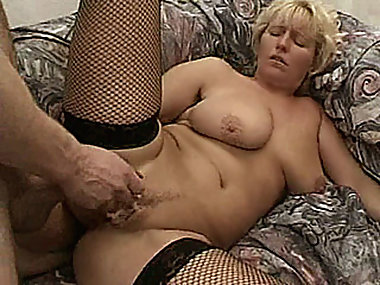 Naughty Milf with big tits hardcore threesome..