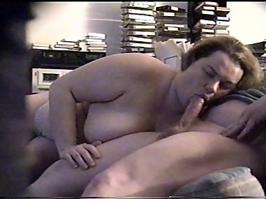 BBW MILF Wife Swallows Friend's Hot, Thick Cum