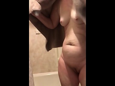 MILF Wife Shower Spy - Fixed