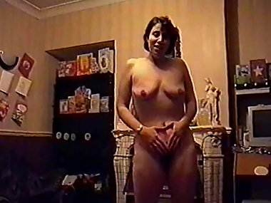 uk SILF wife holly striptease