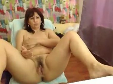gretamilf private on cam sexy hairy spread striptease
