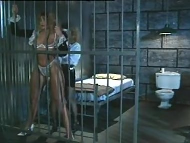 luscious prisoner and cop licking each other