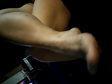 Sexy thick, bare, milf, feet.
