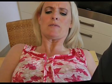 Blonde Mature Housewife Creampie