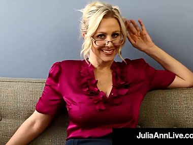 Milf Professor Ms. Julia Ann Teaches You..