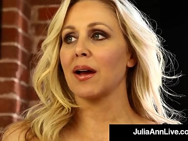Mega Milf Julia Ann Finds Out Boy Toy Wearing..
