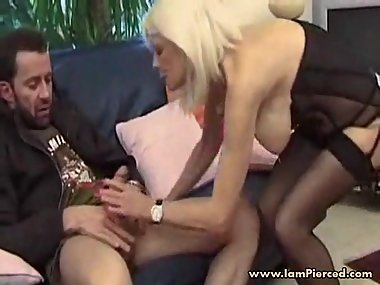 I am Pierced french mature with pussy rings piercings