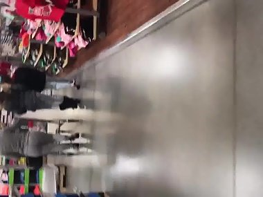 Big booty Spanish milf with fat ass at the store3
