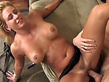 Hot MILF Fucks Sons Friend