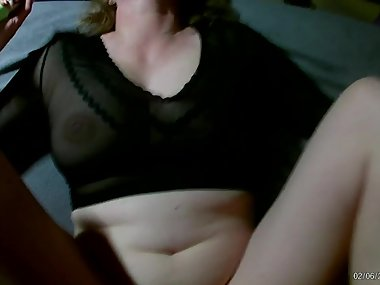 Milf Amateur German sprayed with cum
