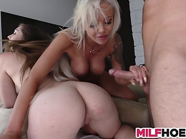 A Very Dirty Mother Daughter Arrangement